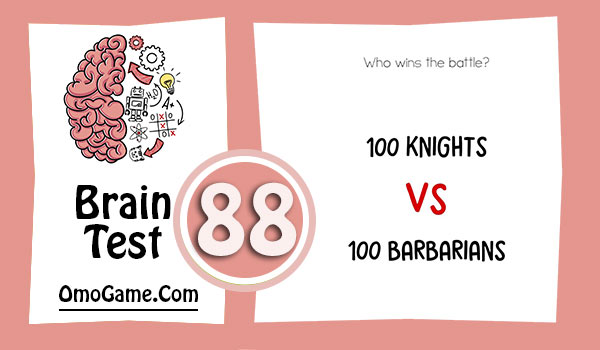 Brain Test Level 88 Who wins the battle.