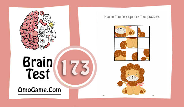 Brain Test Level 173 Form the image on the puzzle