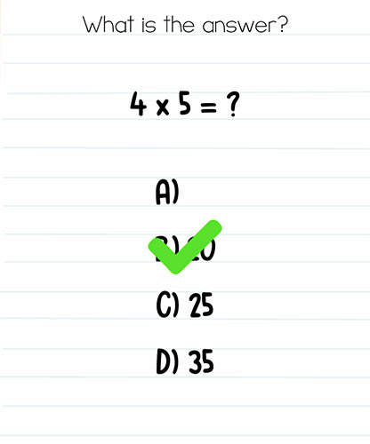 Brain Test Level 275 answer and walkthrough (What is the answer)