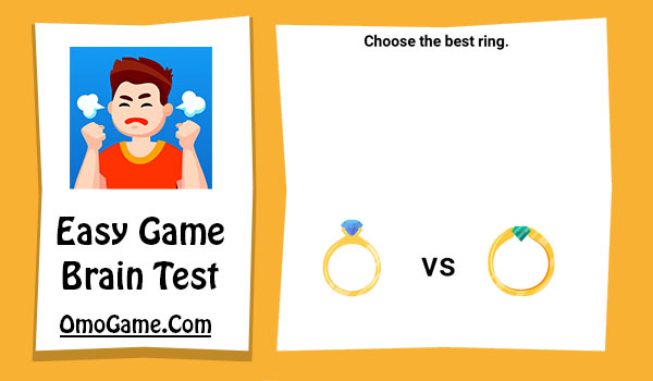 Easy Game Level 52 Choose the best ring