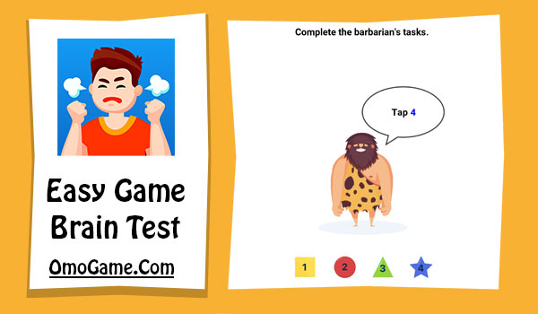 Easy Game Level 95 Complete the barbarian's tasks
