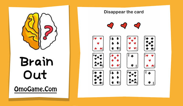 Brain Out Level 174 Disappear the card