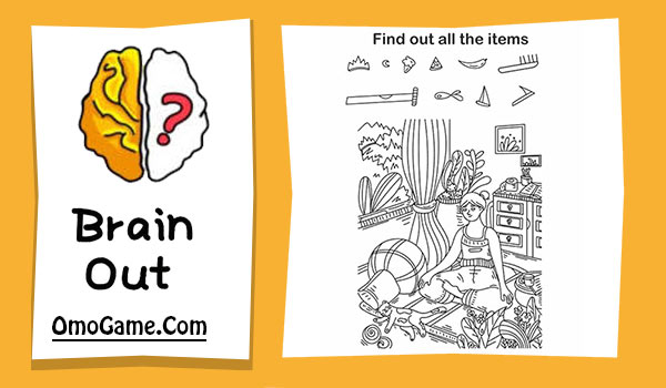 Brain Out Level 144 Find out all the items