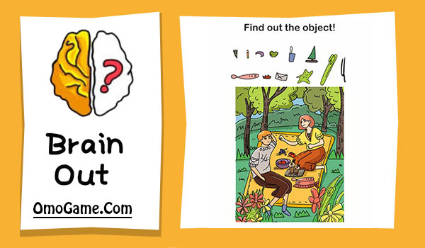 Brain Out Level 40 Find out the object