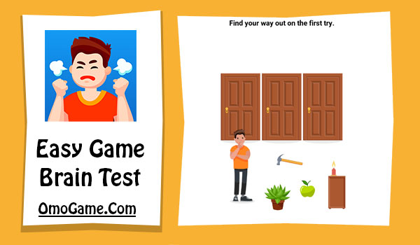Easy Game Level 64 Find your way out on the first try