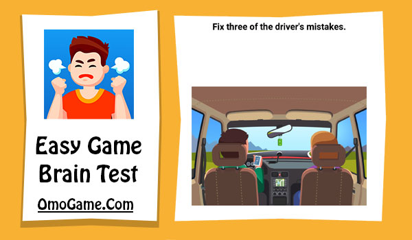 Easy Game Level 15 fix three of drivers mistakes