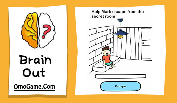 Brain Out Level 142 Help Mark escape from the secret room