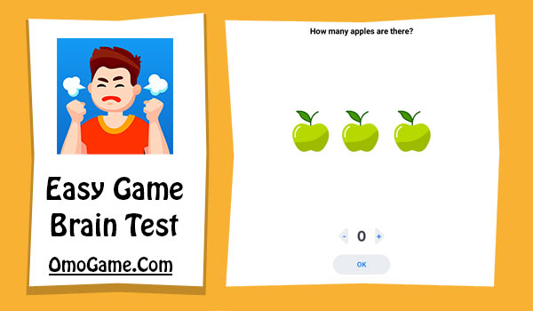 Easy Game Level 6 How many Apple are there