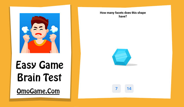 Easy Game Level 11 How many facets does this diamond have