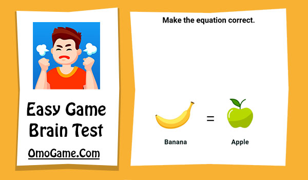 Easy Game Level 37 Make the equation correct