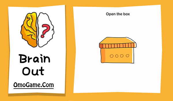 Brain Out Level 108 Open the box