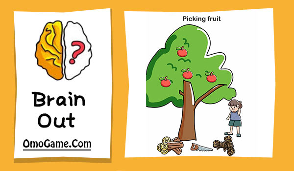 Brain Out Level 145 Picking fruit