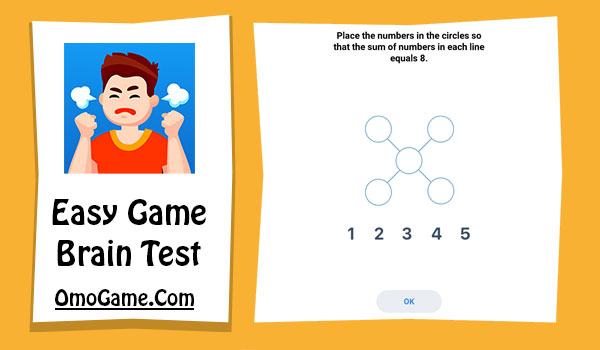 Easy Game Level 74 Place numbers in the circles so that the sum of the...