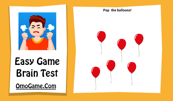 Easy Game Level 109 Pop the balloons