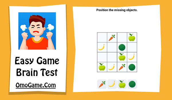 Easy Game Level 68 Position the missing objects