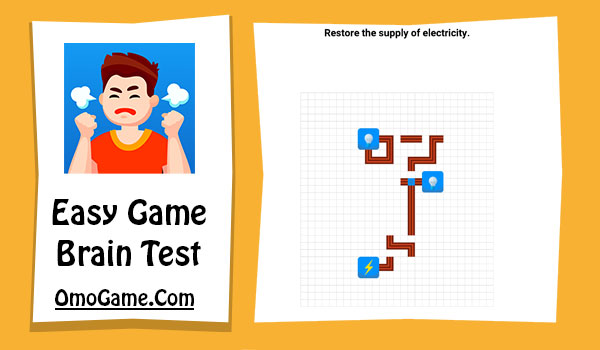 Easy Game Level 97 Restore the supply of electricity