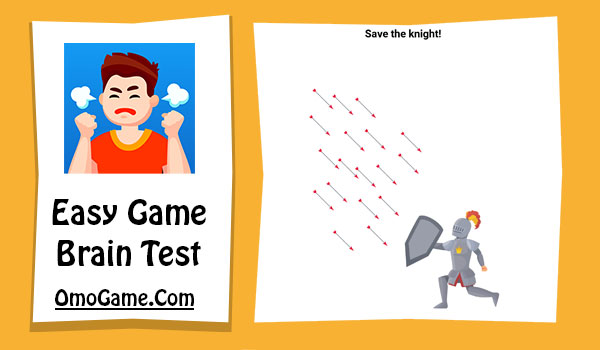 Easy Game Level 60 Save the knight!