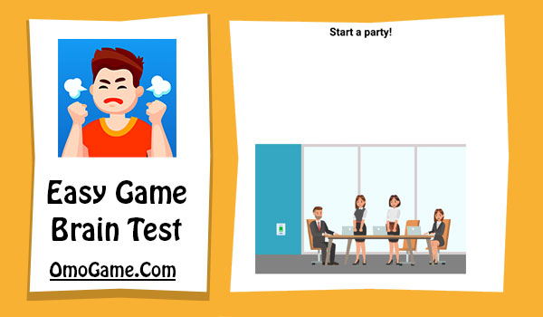 Easy Game Level 57 Start a party!