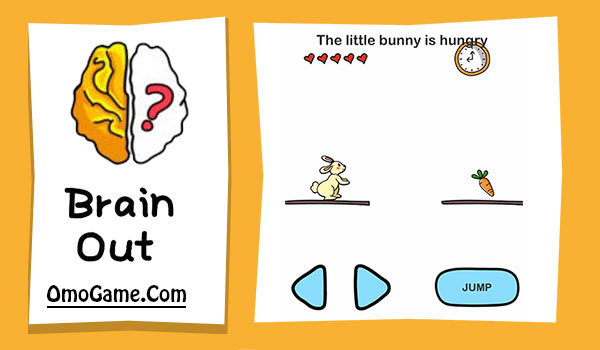 Brain Out Level 183 The little bunny is hungry