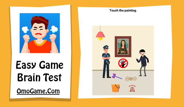 Easy Game Level 87 Touch the painting