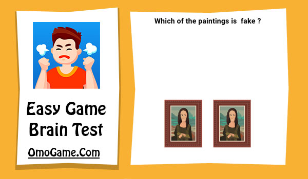 Easy Game Level 81 Which of the paintings is fake
