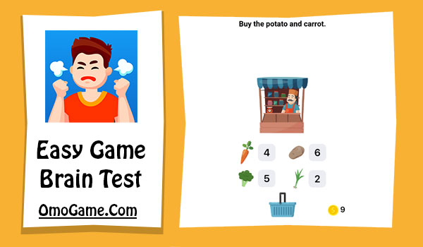 Easy Game Level 253 Buy the potato and carrot
