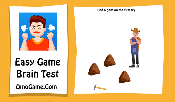 Easy Game Level 149 Find a gem on the first try