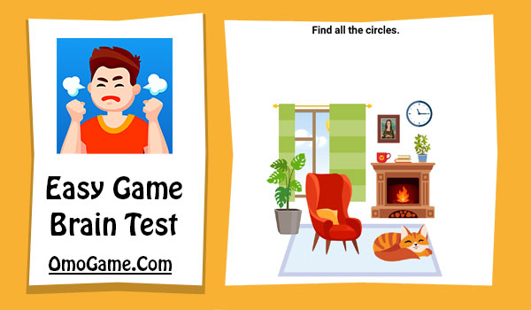 Easy Game Level 157 Find all the circles