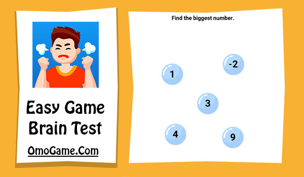 Easy Game Level 196 Find the biggest number