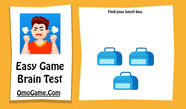 Easy Game Level 192 Find your lunch box