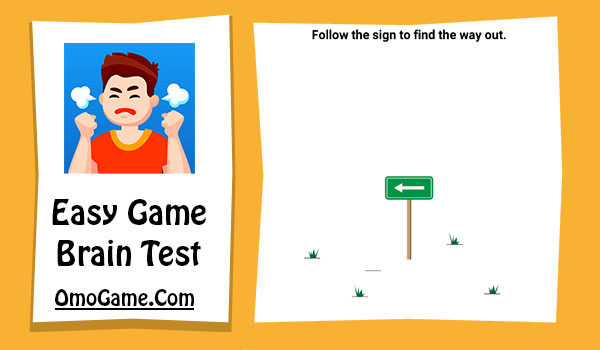 Easy Game Level 266 Follow the sign to find the way out