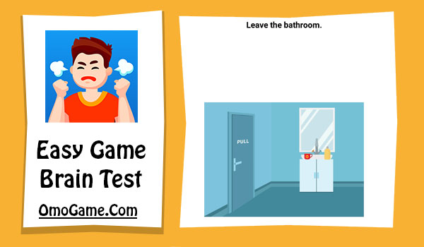 Easy Game Level 122 Leave the bathroom