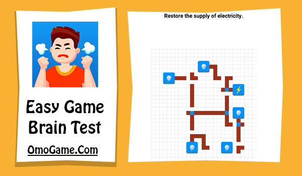 Easy Game Level 229 Restore the supply of electricity