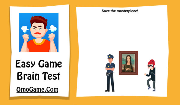 Easy Game Level 200 Save the masterpiece