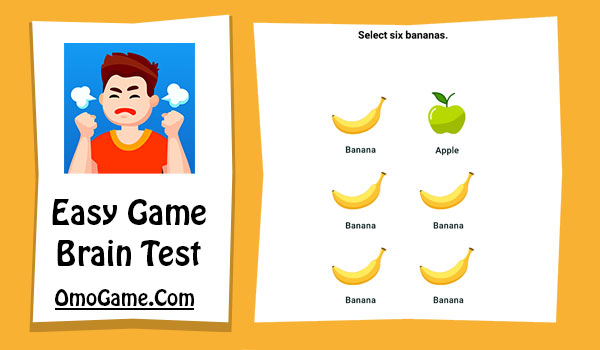 Easy Game Level 263 Select six bananas