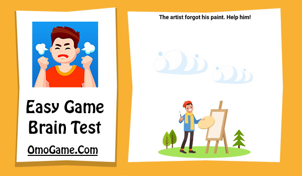 Easy Game Level 167 The artist forgot his paint. Help him!