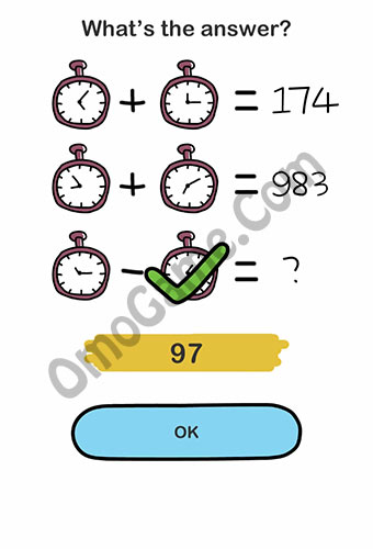 Brain Out Level 195 answer and walkthrough