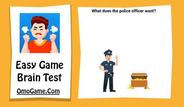 Easy Game Level 162 What does the police officer want