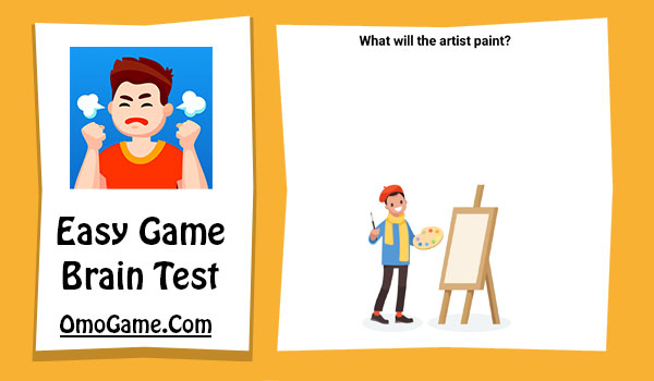 Easy Game Level 199 What will the artist paint
